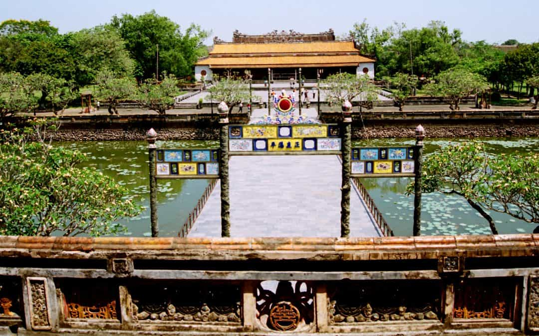 Ancient Imperial city of Hue