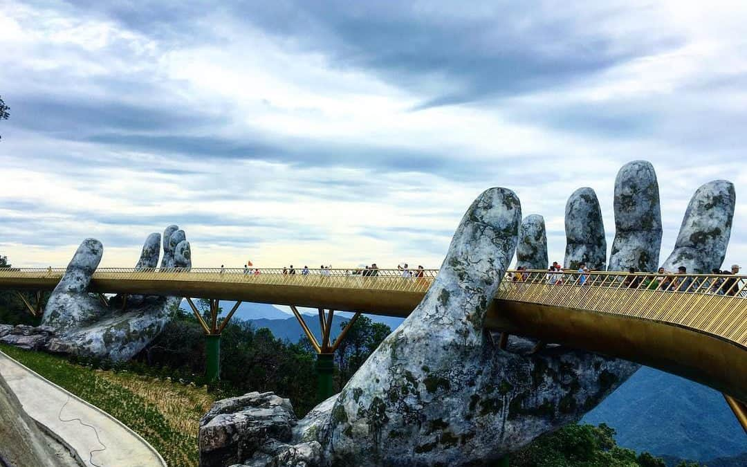 Golden Bridge Danang